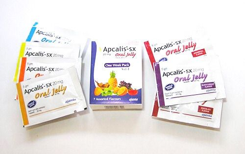Желейный Сиалис Apcalis sx oral jelly