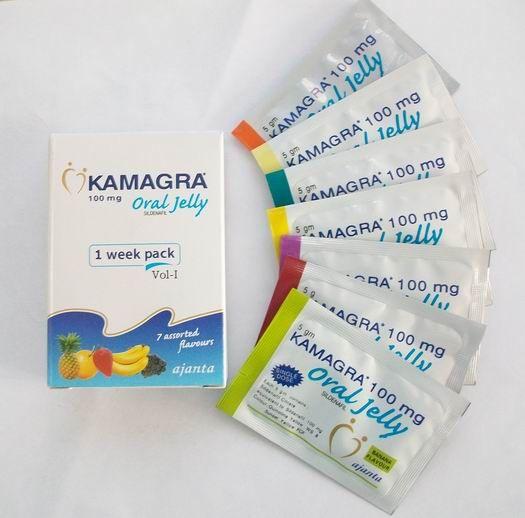 Желейная Виагра Kamagra Oral Jelly