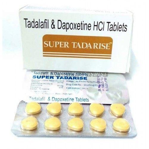 Super Tadarise (Тадалафил+Дапоксетин)