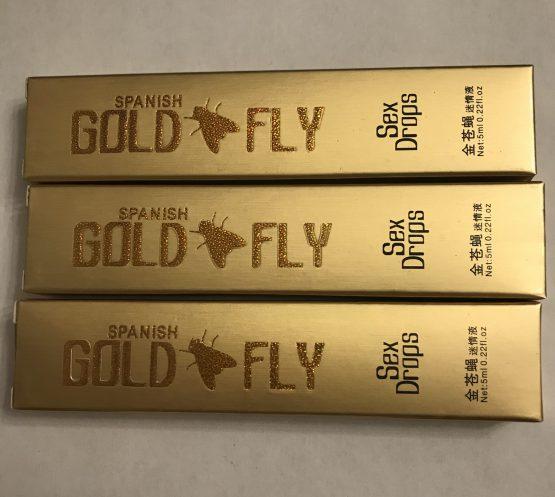 Женский возбудитель Шпанская мушка Gold Fly