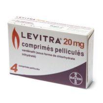 Левитра 20 мг Оригинал